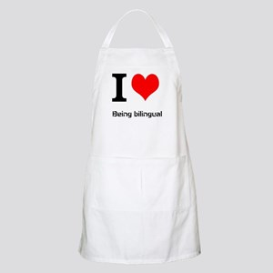 I love being bilingual Apron
