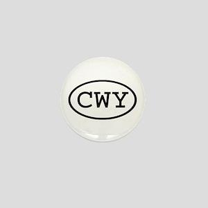 CWY Oval Mini Button