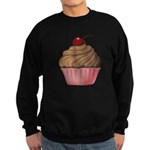 Sweet Pink and Brown Cupcake Sweatshirt