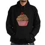Sweet Pink and Brown Cupcake Hoodie