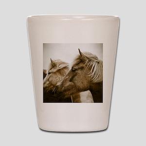 Icelandic Pony Duo Shot Glass