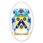 Goldgraber Sticker (Oval)