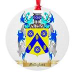 Goldglass Round Ornament
