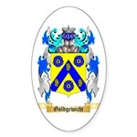 Goldgewicht Sticker (Oval 50 pk)