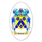 Goldfoot Sticker (Oval 50 pk)