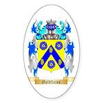 Goldfleiss Sticker (Oval 50 pk)