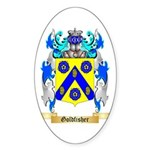 Goldfisher Sticker (Oval 50 pk)