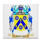 Goldfinger Tile Coaster