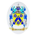 Goldfine Ornament (Oval)