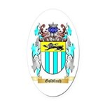 Goldfinch Oval Car Magnet