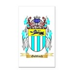 Goldfinch Rectangle Car Magnet