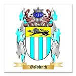 Goldfinch Square Car Magnet 3