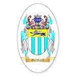 Goldfinch Sticker (Oval 50 pk)