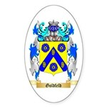 Goldfeld Sticker (Oval 50 pk)