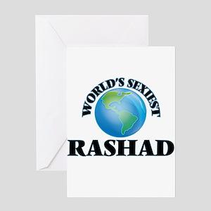 World's Sexiest Rashad Greeting Cards