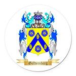 Goldernberg Round Car Magnet