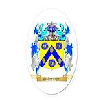 Goldenthal Oval Car Magnet