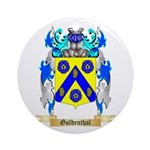 Goldenthal Ornament (Round)