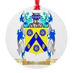 Goldenstein Round Ornament