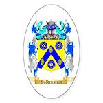 Goldenstein Sticker (Oval 50 pk)