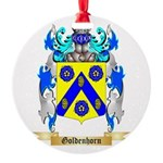 Goldenhorn Round Ornament