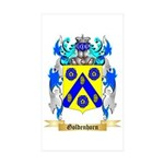 Goldenhorn Sticker (Rectangle 50 pk)