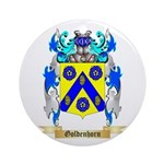Goldenhorn Ornament (Round)