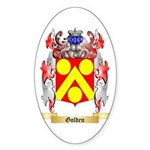 Golden Sticker (Oval)