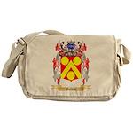 Golden Messenger Bag