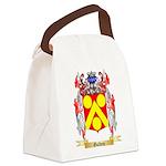 Golden Canvas Lunch Bag