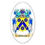 Goldbruch Sticker (Oval 50 pk)