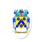 Goldbrener Oval Car Magnet