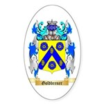 Goldbrener Sticker (Oval 10 pk)