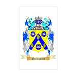 Goldbaum Sticker (Rectangle)