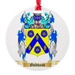 Goldband Round Ornament