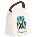 Gold Canvas Lunch Bag