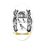 Goivannacci Oval Car Magnet