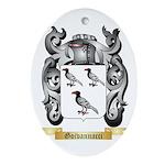 Goivannacci Ornament (Oval)