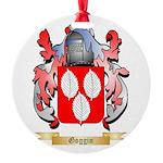 Goggin Round Ornament