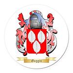 Goggin Round Car Magnet