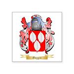 Goggin Square Sticker 3