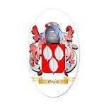 Gogan Oval Car Magnet