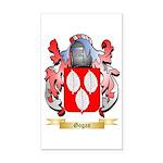 Gogan Rectangle Car Magnet