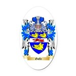Goffe Oval Car Magnet