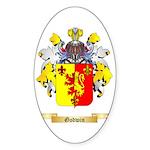 Godwin Sticker (Oval 50 pk)