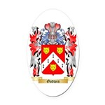 Godwin 2 Oval Car Magnet