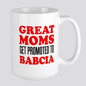 Promoted To Babcia 15 oz Ceramic Large Mug