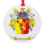 Godin Round Ornament