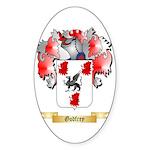 Godfrey Sticker (Oval 10 pk)