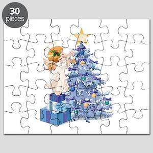 Christmas Tree Angel- Puzzle